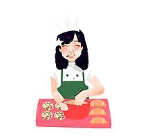 Baking~ Photographic Print