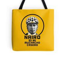 Nairo es mi muchacho casero / Nairo is My Homeboy (Spanish) : TDF Yellow Tote Bag