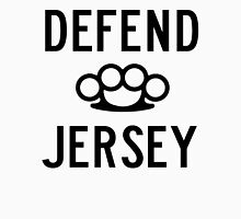 Defend Jersey Mens V-Neck T-Shirt