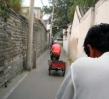 Rickshaw through the Hutong, Beijing, China by littleinca
