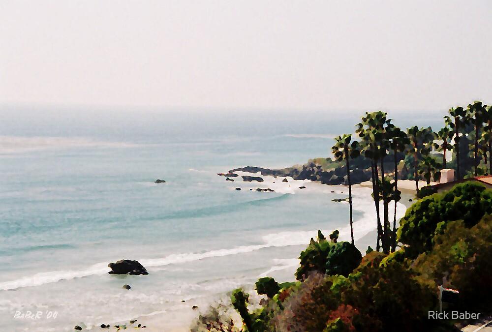 Malibu Beach by Rick Baber