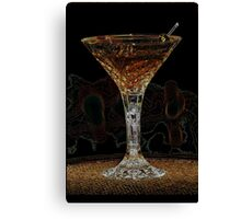 Martini X Canvas Print
