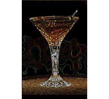 Martini X Photographic Print