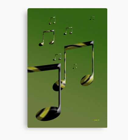 More Notes Canvas Print