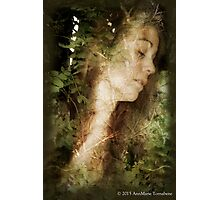 Lady of the Wood Photographic Print