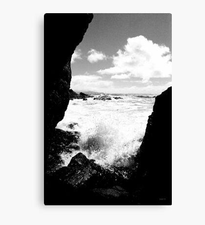 Muir Beach BW Canvas Print