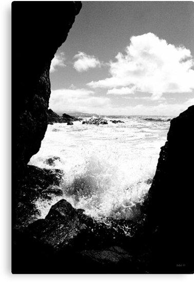Muir Beach BW by Rick Baber