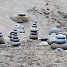 Rocks and Sand by MaryLynn