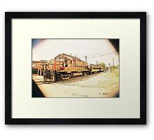 No.68 Northbound Framed Print