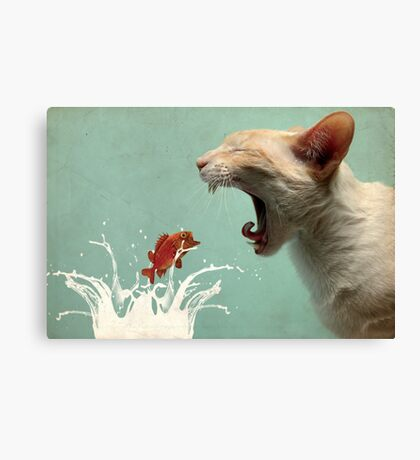 Get in my Belly Canvas Print