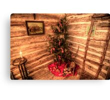 A Quaint Country Christmas Canvas Print
