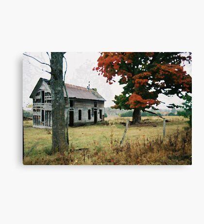 Old Ozark House 3 Canvas Print