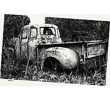Old Truck in a Field Photographic Print