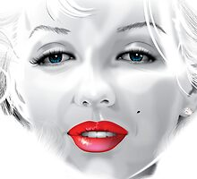 Marilyn Monroe by Brian Gibbs