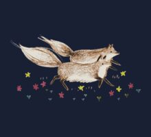 Running Foxes One Piece - Long Sleeve