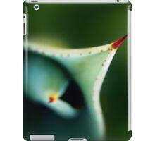 Thorn of aloe leaf close-up iPad Case/Skin