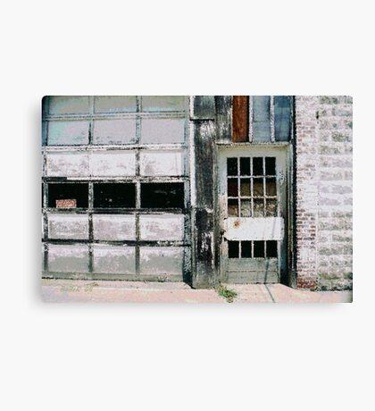Ragged Building 6 Canvas Print