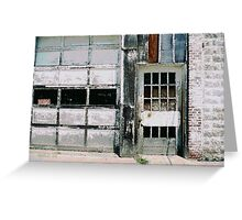 Ragged Building 6 Greeting Card