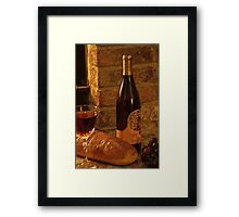 Red Wine 2 Framed Print