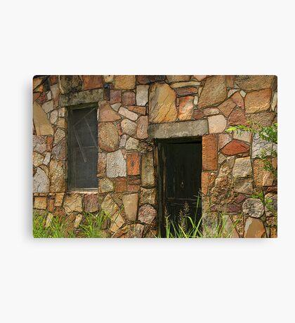 Rock Building at Cedarville Canvas Print