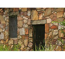 Rock Building at Cedarville Photographic Print