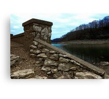 Ruins at Monte Ne 2 Canvas Print