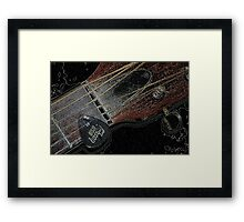 Sigma Guitar Framed Print
