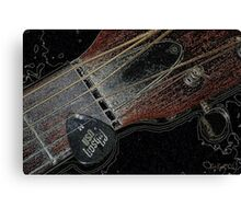 Sigma Guitar Canvas Print