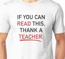 Thank A Teacher Unisex T-Shirt