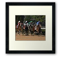 Thoroughbreds 2 Framed Print