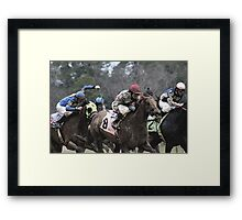 Thoroughbreds 5 Framed Print
