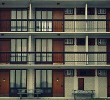 Beach Motel, original photograph, vintage motel, Etobicoke, Mimico photography by studiomo