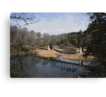 Trestle off 540 Canvas Print