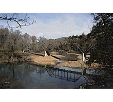 Trestle off 540 Photographic Print