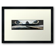 Trouble at James Fork Pier Framed Print