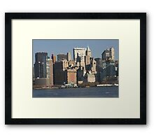 View from the Harbor Framed Print