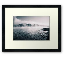 White River Shoreline Framed Print
