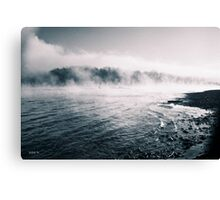 White River Shoreline Canvas Print