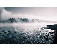White River Shoreline Photographic Print