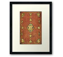 Ornate Vintage Pattern Framed Print