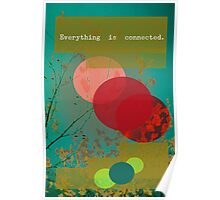 Everything is connected Poster
