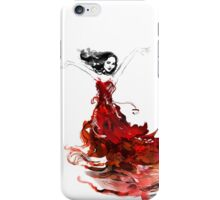 Laru and the dress of flowers iPhone Case/Skin