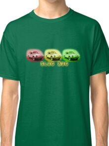 Slug Bug Red Yellow Green Volkswagen Classic T-Shirt