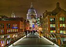 The Bridge To Saint Paul`s - HDR by Colin  Williams Photography