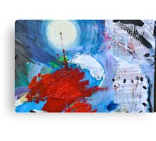scratch the surface Canvas Print