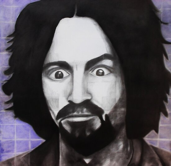 Manson: Chuck Close Style by SavannahStone