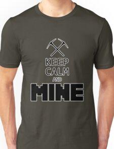 Minecraft - Keep Calm and Mine Unisex T-Shirt