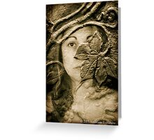 Wood Nymph 2015 Greeting Card