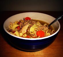 Turkey Noodle Soup by Susan S. Kline