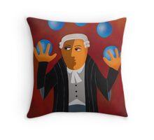 JUGGLER Throw Pillow